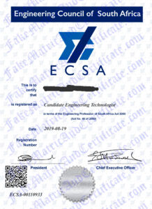 Engineering Council of S.A (ECSA)