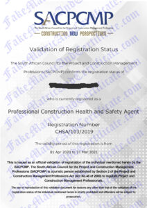 SA Council for Proj. & Const. Mngmnt. Prof. (SACPCMP)