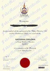 Diploma - Unisa