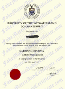 Diploma - Wits