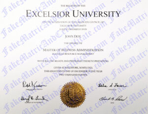 Degree - Excelsior University